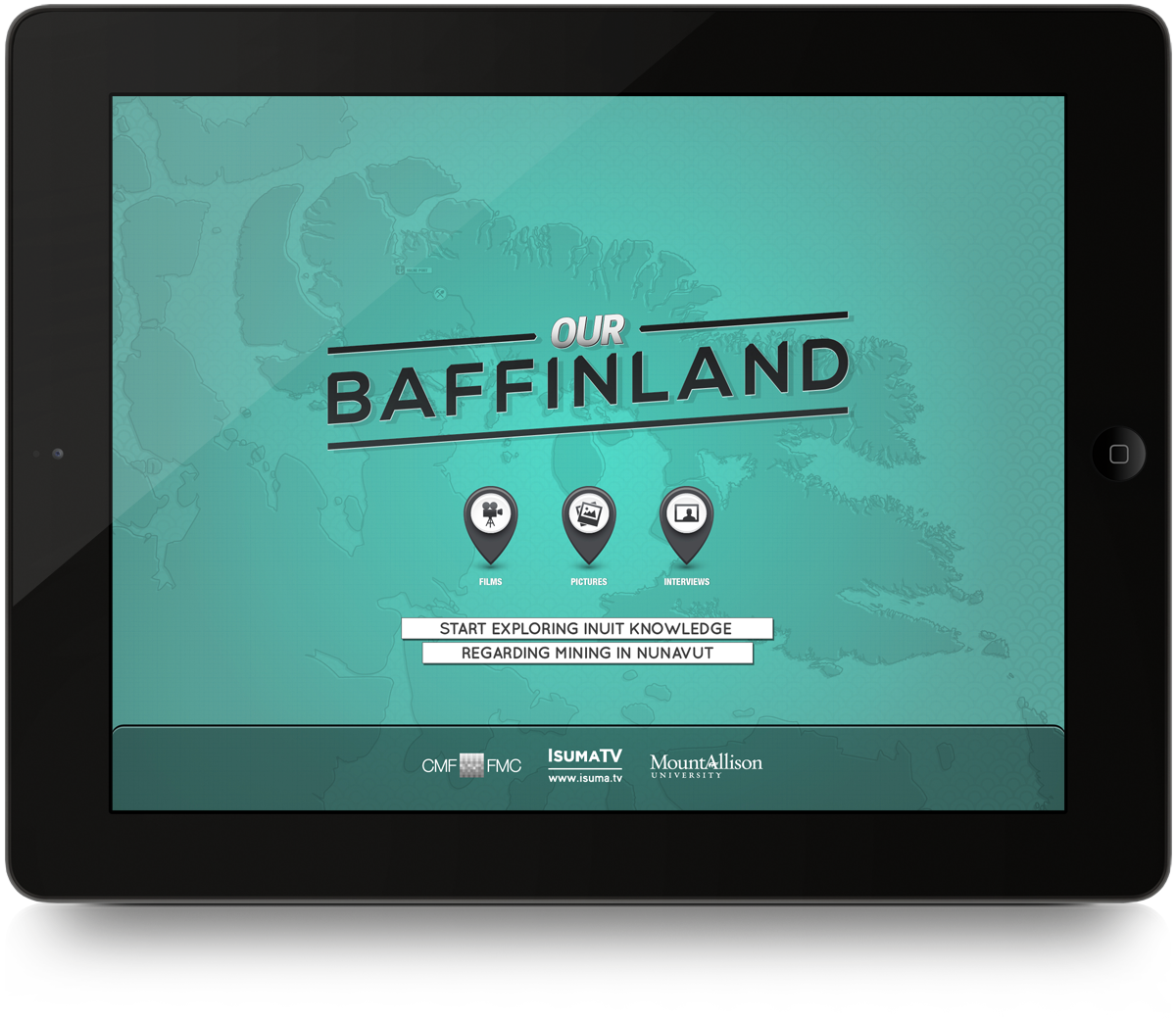 Our Baffinland / Baffin Island Interactive Map